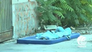 Bari, la ex caserma Rossani è un bagno a cielo aperto: le immagini del degrado - VIDEO