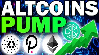 Top Altcoins PUMPING Right Now! (Crypto Gems with HUGE Potential)