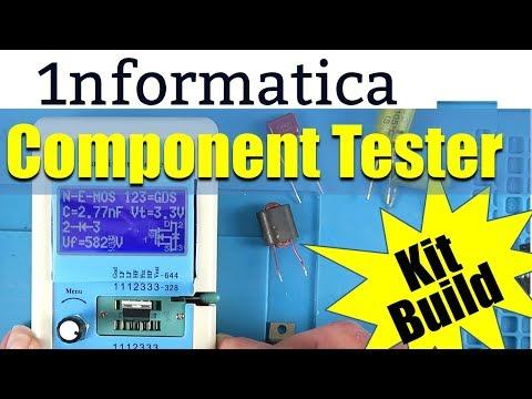 Hiland M12864 Transistor / Component Tester Kit Build