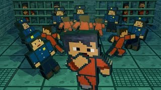Minecraft | PRISONERS BREAKOUT OF JAIL - Escapist Mod Showcase!