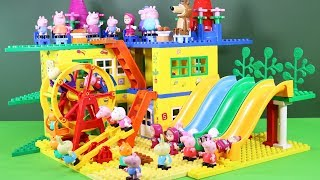 Peppa Pig Building Blocks Lego House Toys - Lego Duplo House Creations Toys For Kids #9