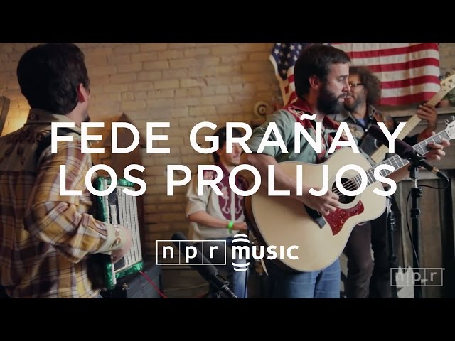 Fede Graña Y Los Prolijos: NPR Music Field Recordings