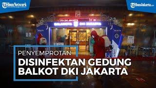 Gubernur Anies Baswedan Positif Covid-19, Balai Kota DKI Jakarta Disemprot Disinfektan
