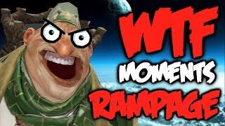 Dota 2 WTF Rampage Compilation