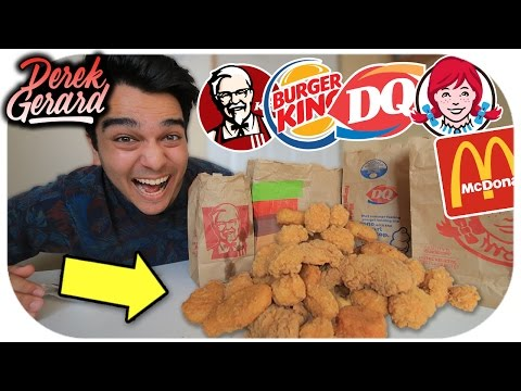 WHO HAS THE BEST CHICKEN NUGGETS?! | Fast Food Olympics