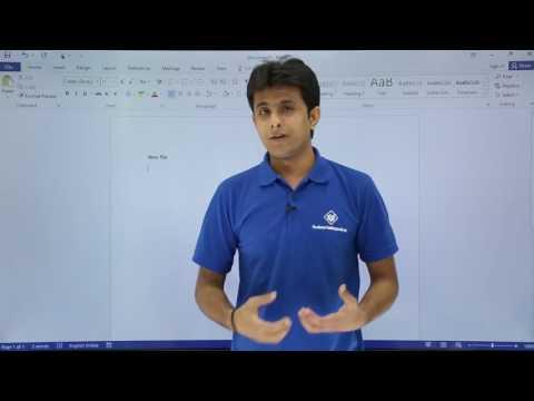 MS Word - Basics