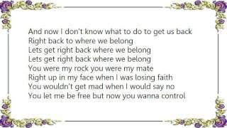 Che'Nelle - Right Back Lyrics