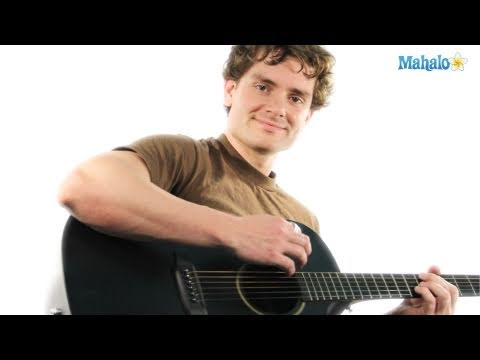 How to Tune an Acoustic Guitar (Lesson 9 of 19)