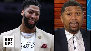 Anthony Davis' 'That's all Folks' shirt could rub Pelicans fans the wrong way – Jalen Rose | Get Up!