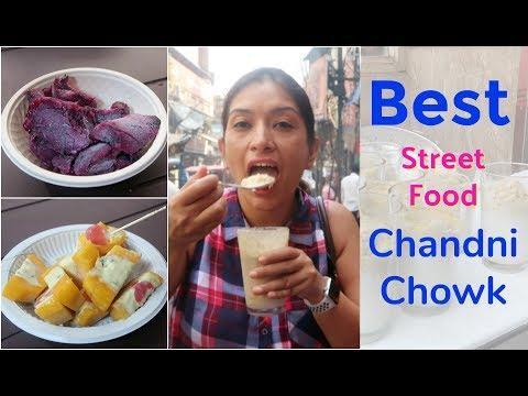 Indian Street Food Chandni Chowk Delhi | BEST Street Food in India | #NishaTries