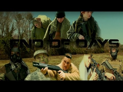 End of days Post Apocalypse zombie film (full movie)