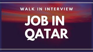 Jobs In Qatar Latest Vacancies In Qatar