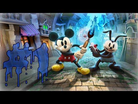 Прохождение Disney Epic Mickey 2 : Две Легенды - Часть 1 - Волшебная кисть [EvilRaccoon]