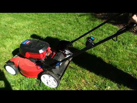 Toro 22 in  Recycler 60-Volt Lithium-Ion Cordless Battery Walk Behind Push  Lawn Mower - 6 0 Ah Battery/Charger Included