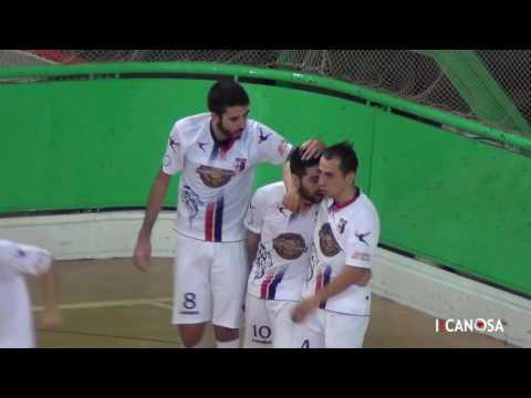 Preview video Serie B Gir. F - Giovinazzo C5 Vs Apulia Food Canosa (4-3)