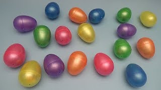 Learn Colours Challenge!  Find the Right Coloured Surprise Egg Game?