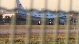 preview picture of video 'Evening Traffic at Milan Linate Airport'