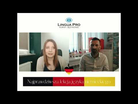 Kadr z filmu na youtube - Najprawdziwsza lekcja języka niemieckiego 14_20