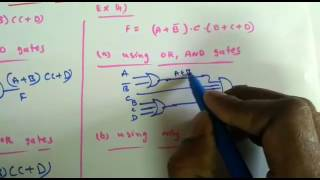 Digital Circuits Lecture-33: Two-Level and Multi-Level Implementations