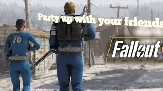 How to play with your friends in fallout 76 nuclear winter