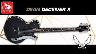 Электрогитара DEAN DECEIVER X MCH (гитара для тяжелой музыки)