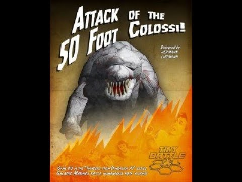 Let's Play Attack of the 50 Foot Colossi by Tiny Battle Publishing