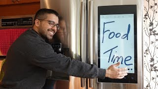 Samsung Smart Fridge Review (with Family Hub)