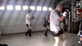 Hard Core Muay Thai Sparring???