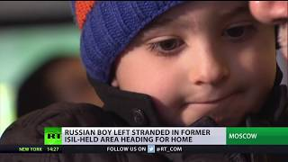 3yo boy returns from Iraq after family recognizes him in RT video