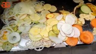multifunctional Fruit Vegetable Slicer Cutting Machine for onion rings|banana chips|apple chips
