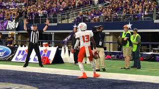 RAW: Money Parks grabs Aledo's lone first half score against College Station