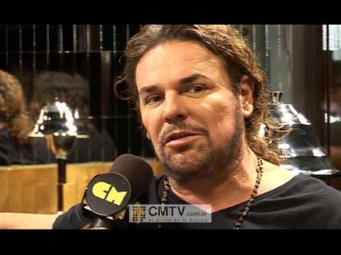 Maná video Entrevista - Diciembre 2011 - Grabación video Mi reina del dolor