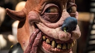 Hyper-Real Ren and Stimpy Masks!