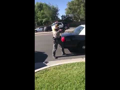 Batshit Crazy Santa Clarita Police Misinterpret Situation & Pull Out Firearm