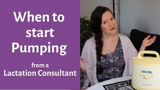 Breast pumping milk | Pumping Basics | when to start pumping after birth