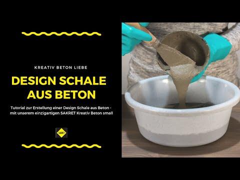 Alte Version | DIY Beton Design Schale selber basteln | BetonLiebe