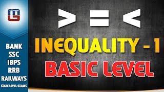 INEQUALITY | BASIC LEVEL | PART 1 | MATHS | IBPS | RRB 2017