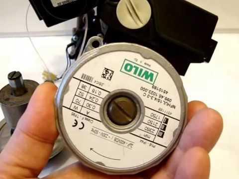 Циркуляционный насос газового котла  Профилактика и ремонт