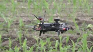 Walkera MR Drone / Runner 250 Pro Prototyp: Erstflug