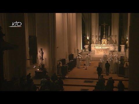 Vêpres et messe du 18 novembre 2017