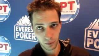 Spanish Poker Tour By Everest Poker - David Colin, Winner In Castellon