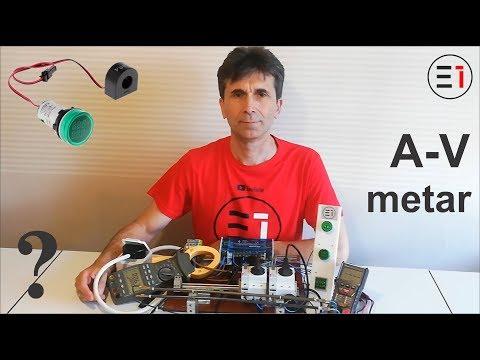 Amper-Volt metar | LED fi-22