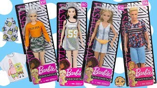 Barbie Fashionistas Part 2 ! Walmart Doll Haul + Spongebob Outfits
