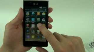 LG Optimus L7 mit Android 4.0 Unboxing und Kurztest