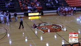 Tahlequah Tiger basketball vs. Claremore Zebras