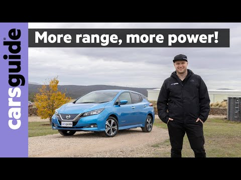 Nissan Leaf e+ 2021 review: Electric car gets more power and driving range - but at a price