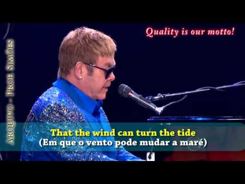 SKYLINE PIGEON (ELTON JOHN) - ROCK IN RIO 2015 - LEGENDADO - HD