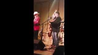 """Doyle Lawson and Quicksilver at Denton Farmpark , Dustin Pyrtle singing """"Till The End"""""""
