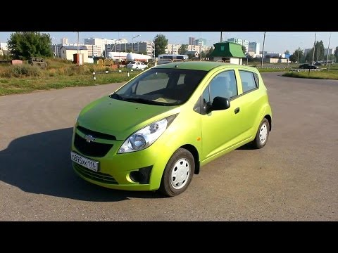 2012 Chevrolet Spark. Start Up, Engine, and In Depth Tour.