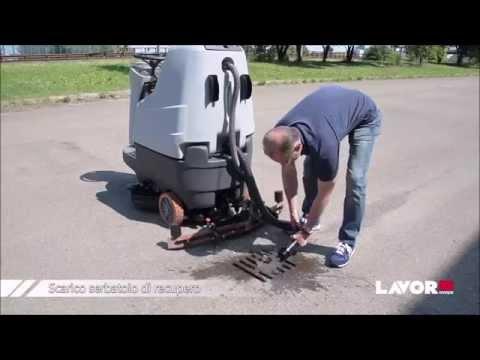 Fabrika Yer Temizlik Makinası-Lavor Comfort XS-R 85 UP